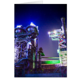 Industrial HDR photography - Steel Plant 2 Card