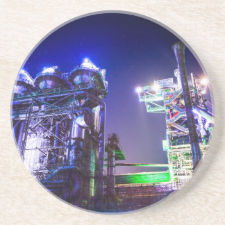 Industrial HDR photography - Steel Plant 2 Coaster