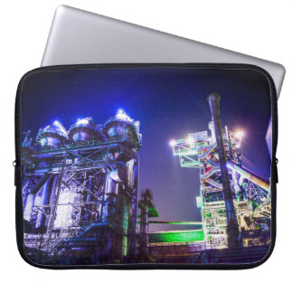 Industrial HDR photography - Steel Plant 2 Computer Sleeve