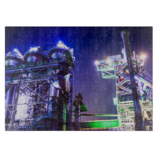 Industrial HDR photography - Steel Plant 2 Cutting Board