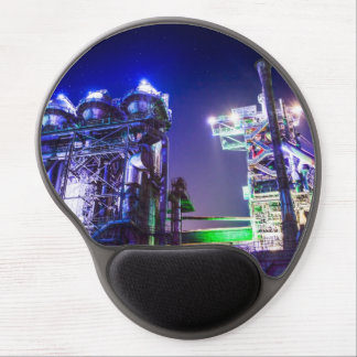 Industrial HDR photography - Steel Plant 2 Gel Mouse Pad