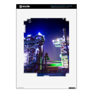 Industrial HDR photography - Steel Plant 2 iPad 3 Skins