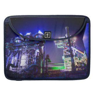 Industrial HDR photography - Steel Plant 2 MacBook Pro Sleeve