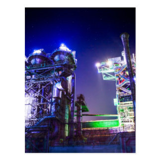 Industrial HDR photography - Steel Plant 2 Postcard