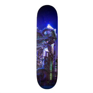 Industrial HDR photography - Steel Plant 2 Skateboard