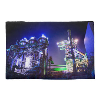 Industrial HDR photography - Steel Plant 2 Travel Accessories Bags