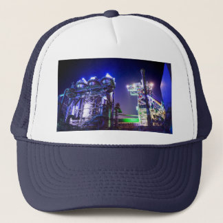 Industrial HDR photography - Steel Plant 2 Trucker Hat