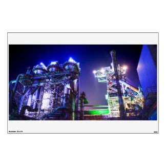Industrial HDR photography - Steel Plant 2 Wall Decal