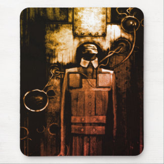Industrial horror mouse pad
