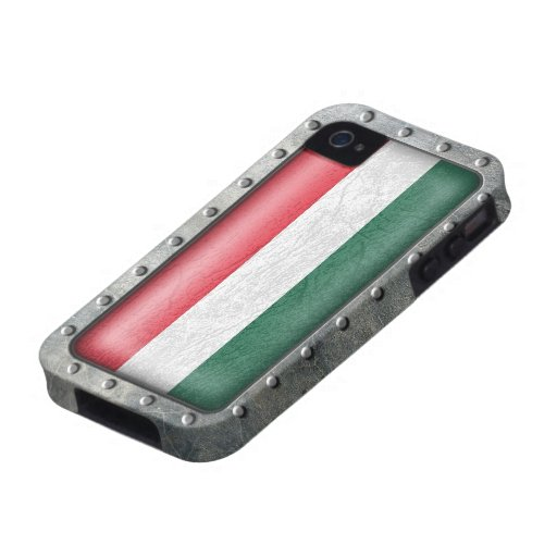 Industrial Hungarian Flag iPhone 4 Cover