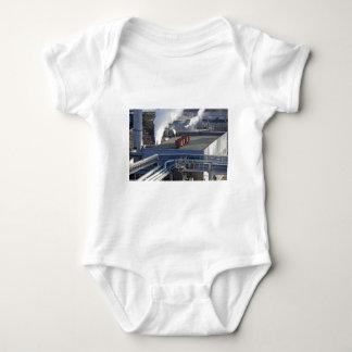 Industrial infrastructure, buildings and pipeline baby bodysuit