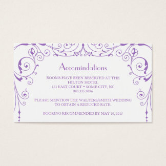 Industrial Ironworks Accommodations Card