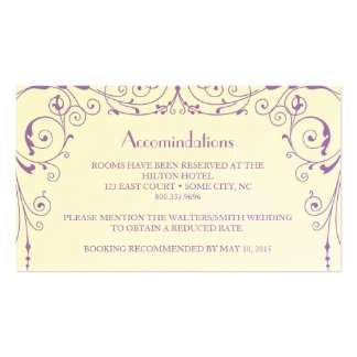 Industrial Ironworks Accommodations Card Double-Sided Standard Business Cards (Pack Of 100)