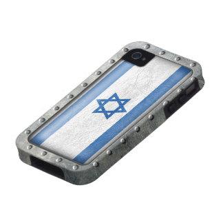 Industrial Israeli Flag iPhone 4 Covers