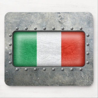 Industrial Italian Flag Mouse Pad