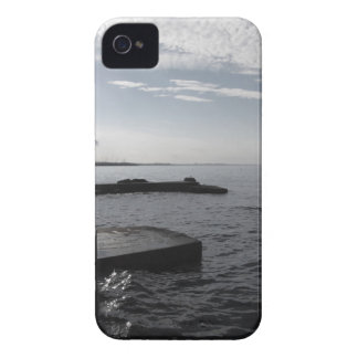Industrial landscape along the coast Air polluting Case-Mate iPhone 4 Case