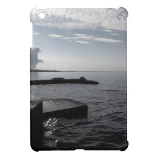 Industrial landscape along the coast Air polluting Cover For The iPad Mini