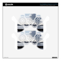 Industrial landscape along the coast Air polluting Decal For PS3 Controller