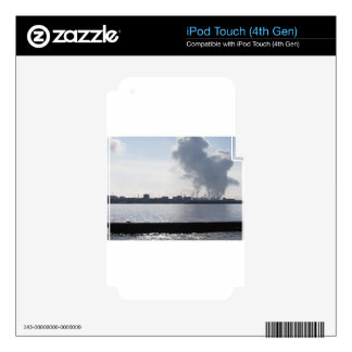 Industrial landscape along the coast Air polluting iPod Touch 4G Decal