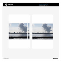 Industrial landscape along the coast Air polluting Kindle Fire Decals