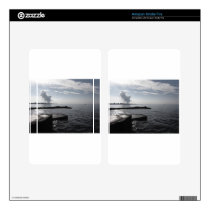 Industrial landscape along the coast Air polluting Kindle Fire Skin