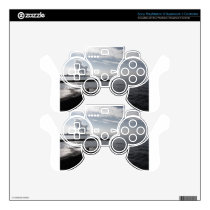 Industrial landscape along the coast Air polluting PS3 Controller Decal
