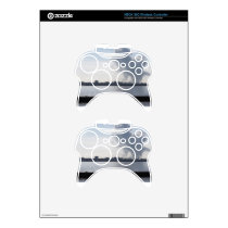 Industrial landscape along the coast Air polluting Xbox 360 Controller Skin
