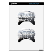 Industrial landscape along the coast Air polluting Xbox 360 Controller Skins