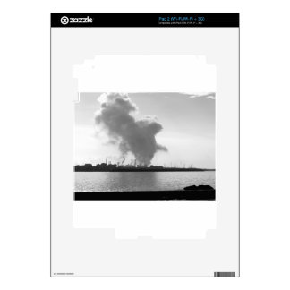 Industrial landscape along the coast iPad 2 skins