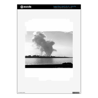 Industrial landscape along the coast iPad 3 decal