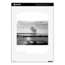 Industrial landscape along the coast iPad 3 skin