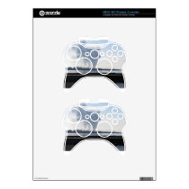 Industrial landscape along the coast xbox 360 controller decal