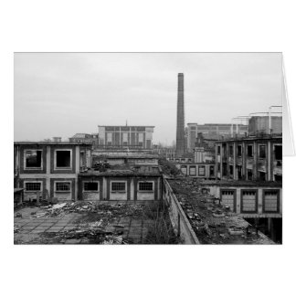 Industrial Landscape Stationery Note Card
