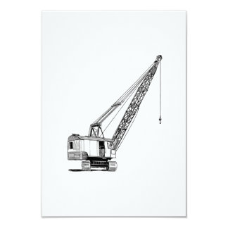 Industrial Lifting Crane Card