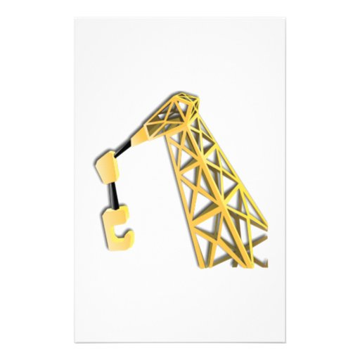 Industrial Lifting Crane Stationery Paper