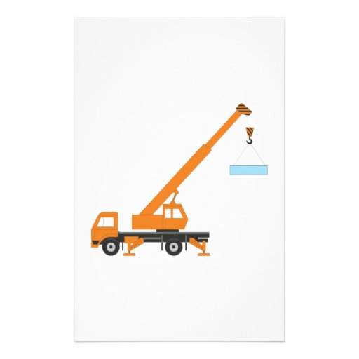 Industrial Lifting Crane Customized Stationery