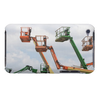 Industrial lifting platforms barely there iPod cover