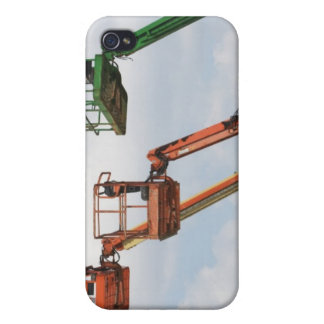 Industrial lifting platforms iPhone 4 case