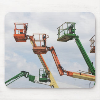 Industrial lifting platforms mouse pad