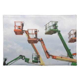 Industrial lifting platforms place mat