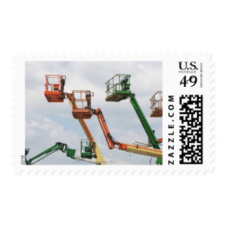 Industrial lifting platforms postage