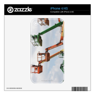 Industrial lifting platforms skins for the iPhone 4
