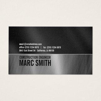 Industrial Look Business Card Platinum Paper