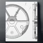 "Industrial Mechanical Gears Ephemera Print Plaque<br><div class=""desc"">Circa 1900.   Awesome industrial graphic.</div>"