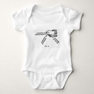 Industrial Mechanical Vintage Engineering Baby Bodysuit