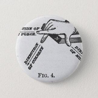 Industrial Mechanical Vintage Engineering Pinback Button