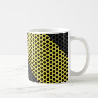 Industrial mesh coffee mug
