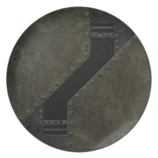 Industrial Mesh Pattern Plate