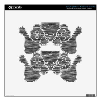 Industrial - Metal Finish - Stainless Steel Decal For PS3 Controller