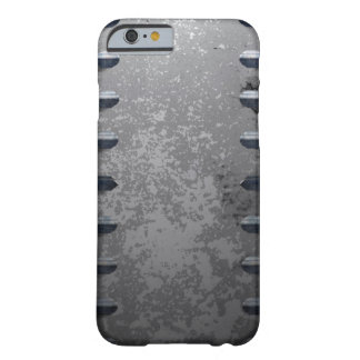Industrial metal railings and stone barely there iPhone 6 case
